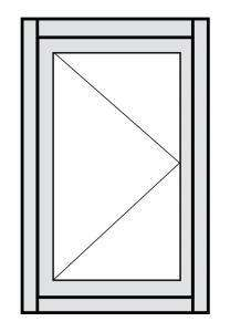 Casement Window Configuration Drawing 1