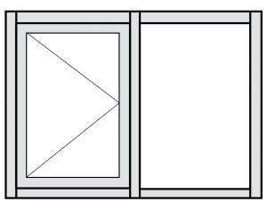 Casement Window Configuration Drawing 2