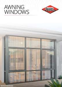 Cover preview of the Awning Windows brochure by Jason Windows