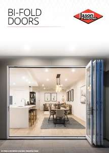 Cover preview of the Bi-Fold Doors brochure by Jason Windows