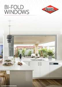 Cover preview of the Bi-Fold Windows brochure by Jason Windows