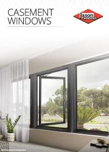 Cover preview of the Casement Windows brochure by Jason Windows