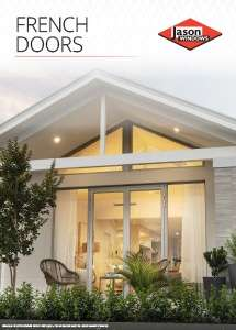 Cover preview of the French Doors brochure by Jason Windows