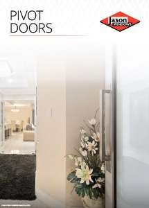 Cover preview of the Pivot Doors brochure by Jason Windows