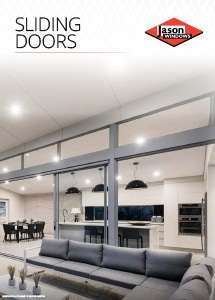 Cover preview of the Sliding Doors brochure by Jason Windows