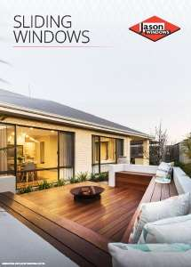 Cover preview of the Sliding Windows brochure by Jason Windows