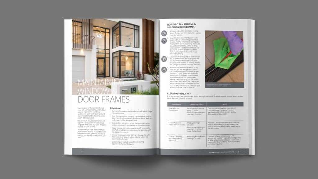 Cleaning and Maintenance Guide - Jason Windows