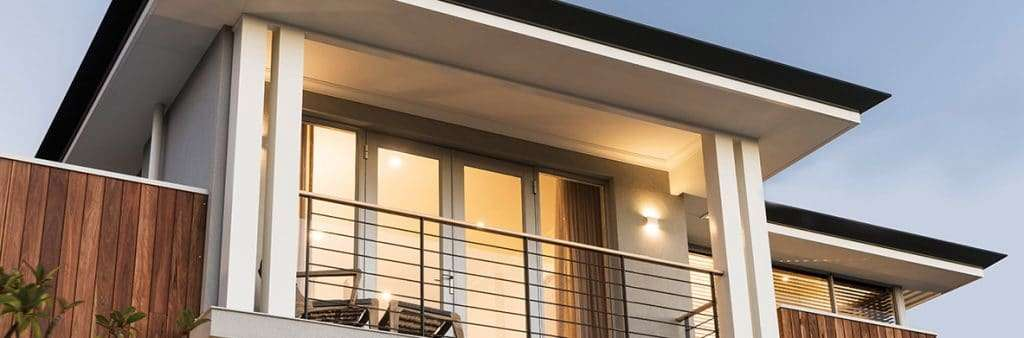 French Doors opening on to a balcony. Featured builder: Coast Homes
