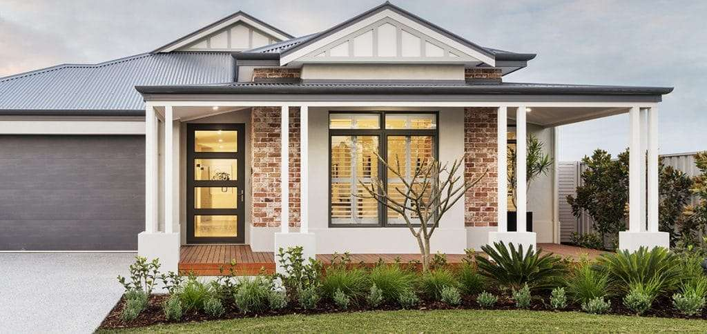 Sentry Front Door Four Lite in Charcoal Lustre. Dale Alcock Homes