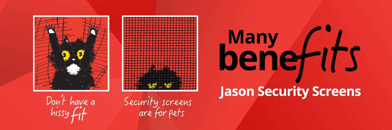 Jason security screens for pets
